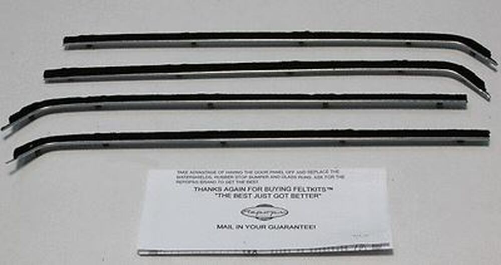 1956 FORD PICK UP WINDOW BELTLINE WEATHERSTRIP KIT 4-PIECES