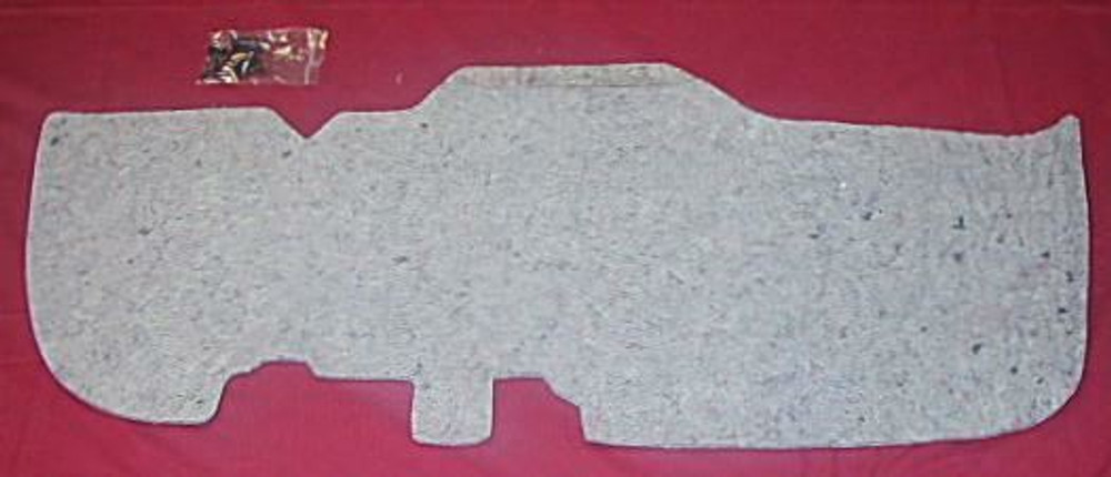 1947 - 1953 CHEVROLET PICK UP TRUCK  FIREWALL INSULATION PAD/ CLIPS