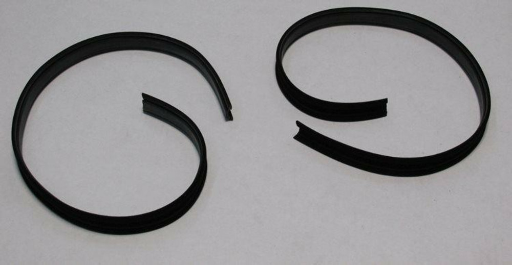 1967-1972 FORD PICK UP WINDOW DIVISION BAR WEATHERSTRIP KIT 2-PIECES