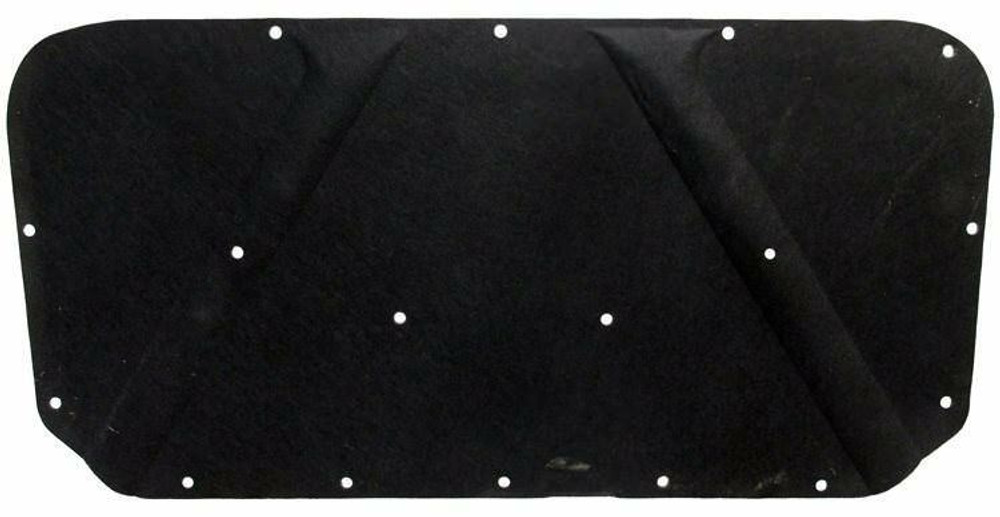 1967-1974 MOPAR 'A' BODY, MOLDED HOOD INSULATION PAD, WITH CLIPS