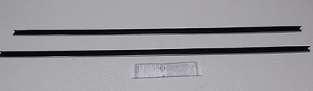 1970-72 PLYMOUTH DUSTER/DEMON WINDOW BELTLINE WEATHERSTRIP OUTER ONLY (2 PIECES)