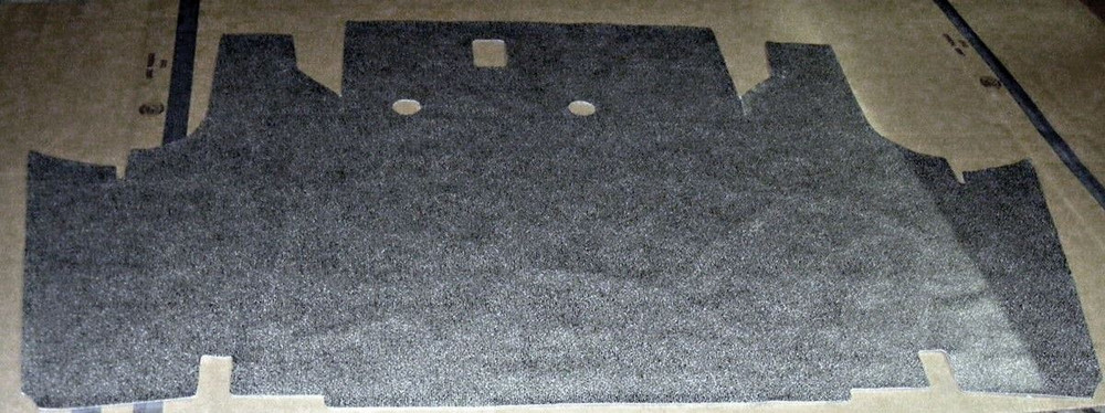 1962-1964 Ford Fairlane trunk mat Speckled or small Ford Plaid Vinyl Patterns