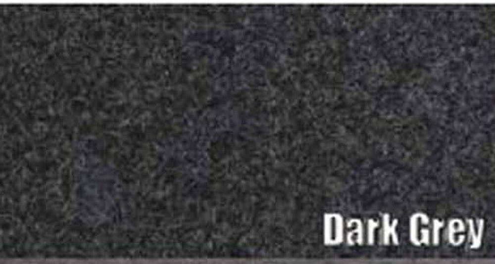 1957-1958 CHRYSLER IMPERIAL TRUNK CARPET KIT, 3 PIECES, DARK GREY