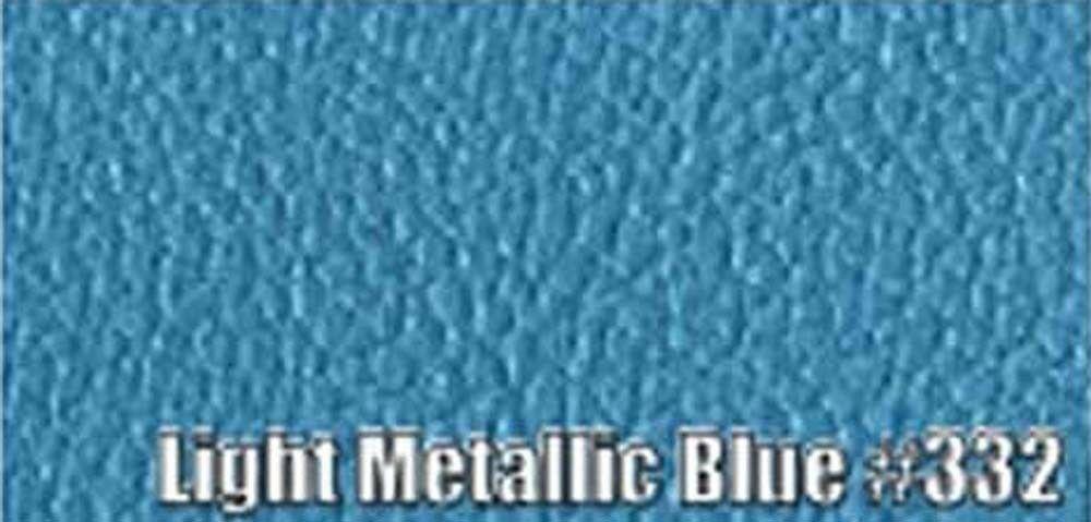 1972-73 PLYMOUTH 'CUDA SUN VISORS, COACHMAN PATTERN, LIGHT METALLIC BLUE COLOR