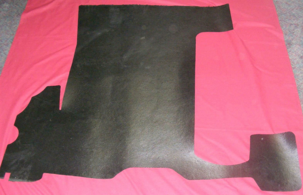 1949 - 1950 DODGE WAYFARER  RUBBER TRUNK MAT
