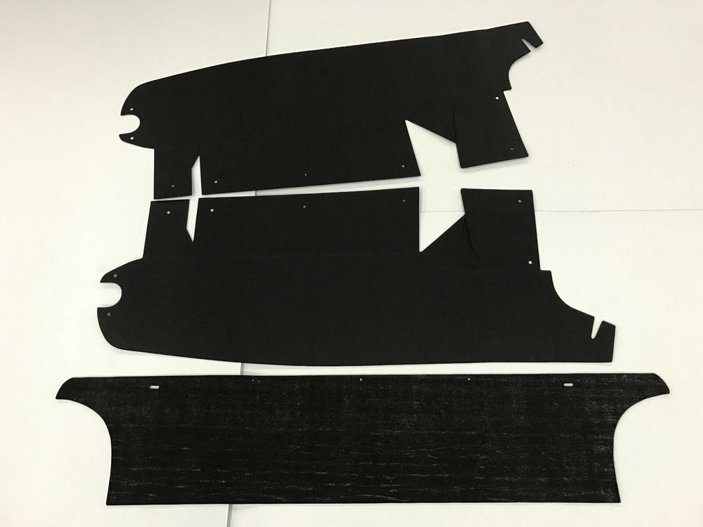 1963-1964 MERCURY MARAUDER TRUNK BOARD KIT 3 PIECES NEW!