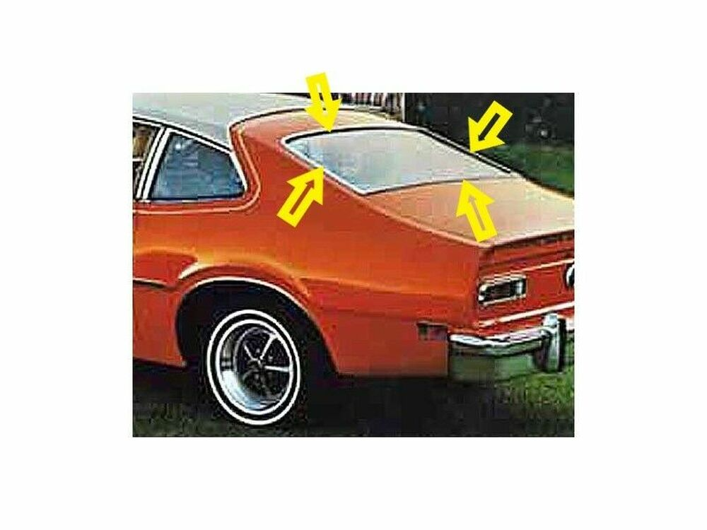 1970-1977 Maverick, Comet 2 door sedan Back Glass Weatherstrip 2 Door Sedan