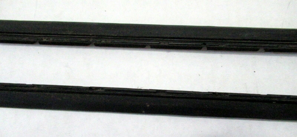 1968-70 FORD T-BIRD/MARK III &IV WINDOW VERTICALS, USED, PAIR