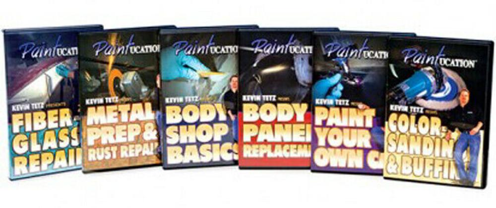 PAINTUCATION INSTRUCTIONAL  6 DVD SET KEVIN TETZ NEW!
