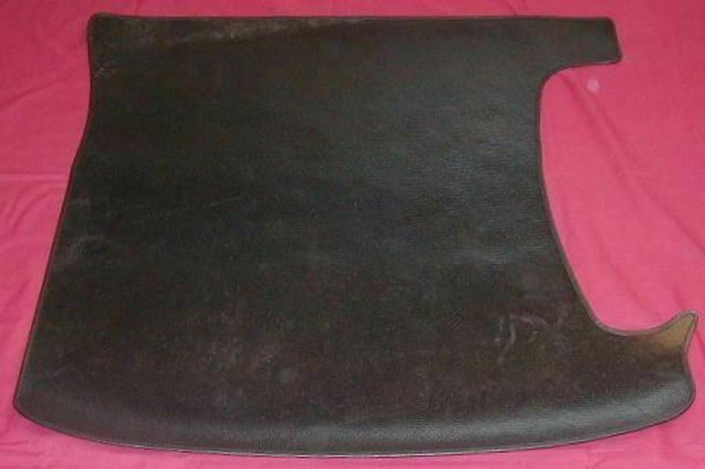 1940 PLYMOUTH SEDAN TRUNK MAT,  GRAINED RUBBER