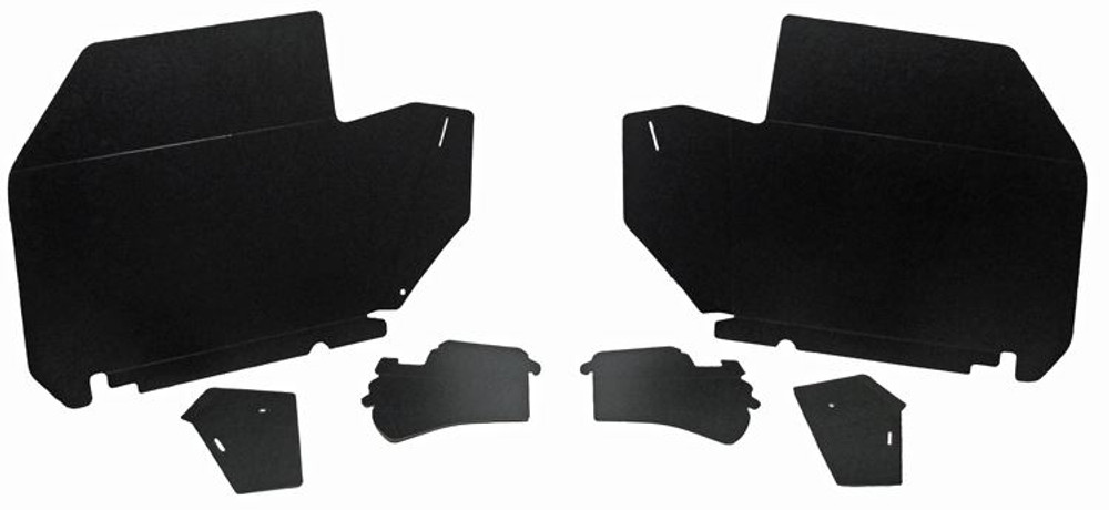 1969-1970 BUICK WILDCAT 2 DOOR HARDTOP TRUNK BOARD KIT 6pc. BLACK