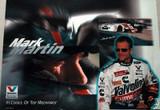 MARK MARTIN VALVOLINE #6 NASCAR 1997 POSTER NEW  MAN CAVE!