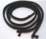 1962-1967 Chevy Nova 2 dr hardtop & convertible door weatherstrip seal kit, pair
