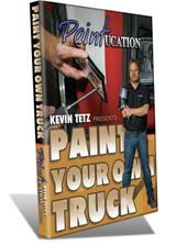 PAINTUCATION DVD PAINT YOUR TRUCK TETZ NEW RELEASE