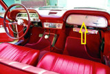 1965 - 1969 CORVAIR  GLOVE BOX
