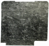 1967 OLDSMOBILE CUTLASS HOOD INSULATION KIT INCLUDES CLIPS