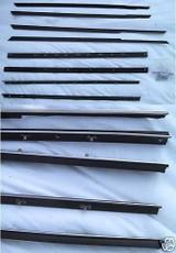 1966 MONTEREY PARK LANE 4 DOOR HARDTOP WINDOW WEATHERSTRIP 8 PC.