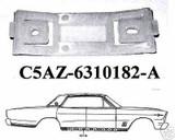 1965-1966 CUSTOM FULL SIZE GALAXIE LTD ROCKER PANEL CLIP, SET