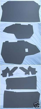 1965 ELECTRA 225 CONVERTIBLE TRUNK BOARD KIT 7pc GRAY