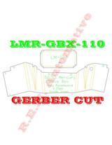 1952-1953 MERCURY MONTEREY GLOVE BOX LINER, GREY PANELBOARD