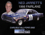 NED JARRETT DRIVER HERO CARD CAREER STATISTICS NASCAR