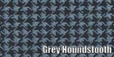 1959 CATALINA COUPE & CONVERTIBLE GRAY HOUNDSTOOTH RUBBER TRUNK MAT KIT 4 PCS