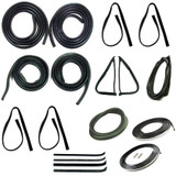 1977-1979 FORD F SERIES PICKUP, COMPLETE WEATHERSTRIP KIT 14PC