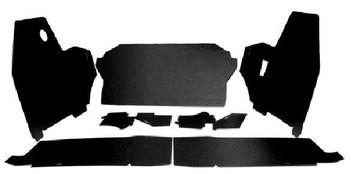 1969-1970 BUICK ELECTRA 2 DOOR HARDTOP TRUNK BOARD KIT 7 PIECES, BLACK