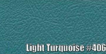 1963-66 DART (EXCEPT CONVERTIBLE) SUN VISORS, BISON PATTERN, LIGHT TURQUOISE