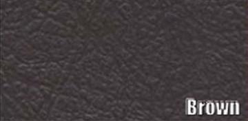1950-1953 CADILLAC CONVERTIBLE TRUNK SIDE PANEL KIT, BROWN PANELBOARD, 9 PCS.