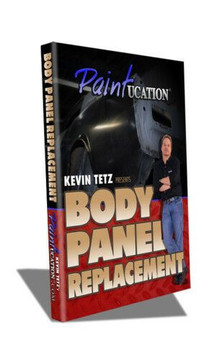 PAINTUCATION DVD BODY PANEL REPLACEMENT KEVIN TETZ NEW!