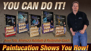 PAINTUCATION INSTRUCTIONAL FIVE DVD SET KEVIN TETZ NEW!