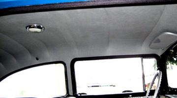 1959 PONTIAC 2 DOOR SEDAN 7 BOW HEADLINER, 10 COLORS, STAR PATTERN