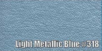 1966 PLYMOUTH BELVEDERE CONVERTIBLE SUN VISORS, COLOGNE PATTERN, LT. MET. BLUE