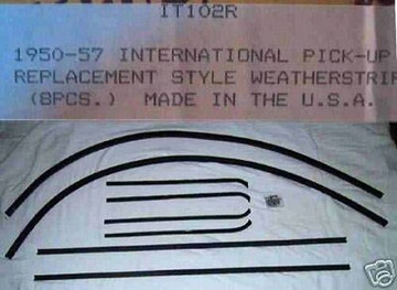 1950-1953  L & R INTERNATIONAL WINDOW WEATHERSTRIP
