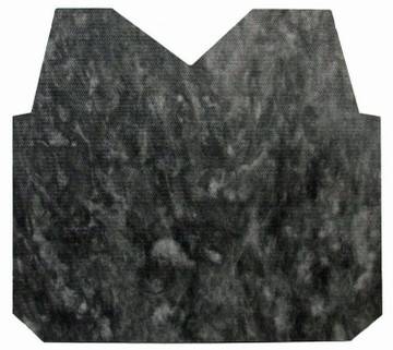 1957 BUICK SUPER  HOOD INSULATION PAD INCLUDES CLIPS