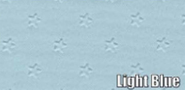 1962 PONTIAC GRAN PRIX SUN VISORS, STAR PATTERN, LIGHT BLUE COLOR, PAIR