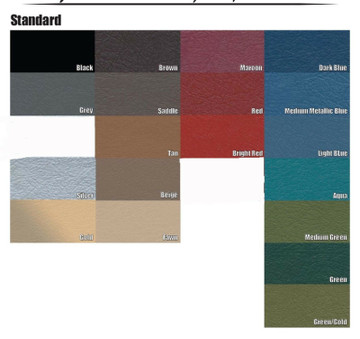 1961-1962 CADILLAC SERIES 62 NO/AC, KICK PANELS, 3 PIECES 19 COLORS AVAILABLE
