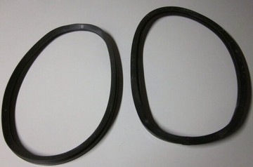 1941-1949  INTERNATIONAL PANEL TRUCK K & KB1-5 REAR DOORS GLASS SEAL NEW