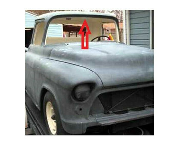 1954-1955  GM PICK UP TRUCK HEADLINER 4 DIFFERENT COLORS, 2 pieces