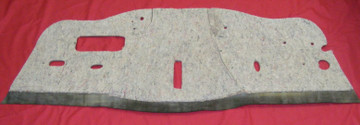 1949 - 1950 PLYMOUTH DELUXE  FIREWALL INSULATION PAD