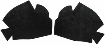 1965-1969 CHEVROLET CORVAIR ENGINE HOOD INSULATION  KIT 2PC INCLUDES CLIPS
