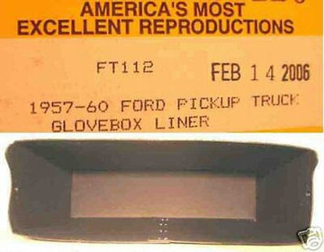 1957 - 1960 FORD PICKUP TRUCK GLOVE BOX