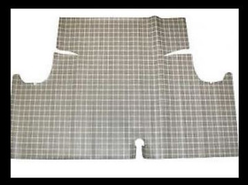 1964-1965  FORD FALCON RUBBER TRUNK MAT, FOR COUPE & CONVERTIBLE
