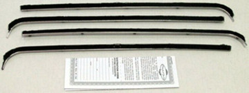 1953-1955 FORD PICK UP WINDOW BELTLINE WEATHERSTRIP KIT 4-PIECES