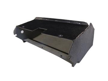 1952 LINCOLN CAPRI GLOVE BOX, GREY FELT