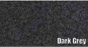 1957-1958 CHRYSLER IMPERIAL TRUNK CARPET KIT, 3 PIECES, DARK GREY