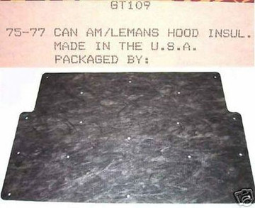 1975-1977 CAN AM & LEMANS HOOD INSULATION KIT INCLUDES CLIPS