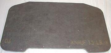 1964 - 1965 PLYMOUTH BARRACUDA HOOD INSULATION PAD