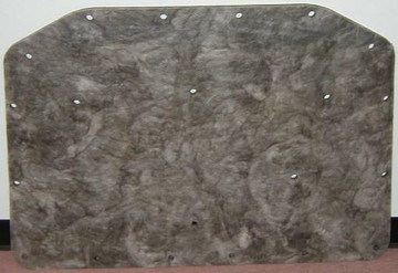 1965 PLYMOUTH SATELLITE and BELVEDERE HOOD INSULATION PAD